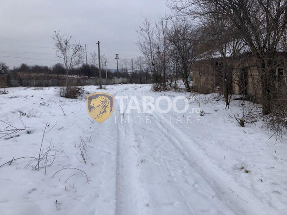 Teren intravilan 6418 mp cu deschidere la DN in Saliste judetul Sibiu 1