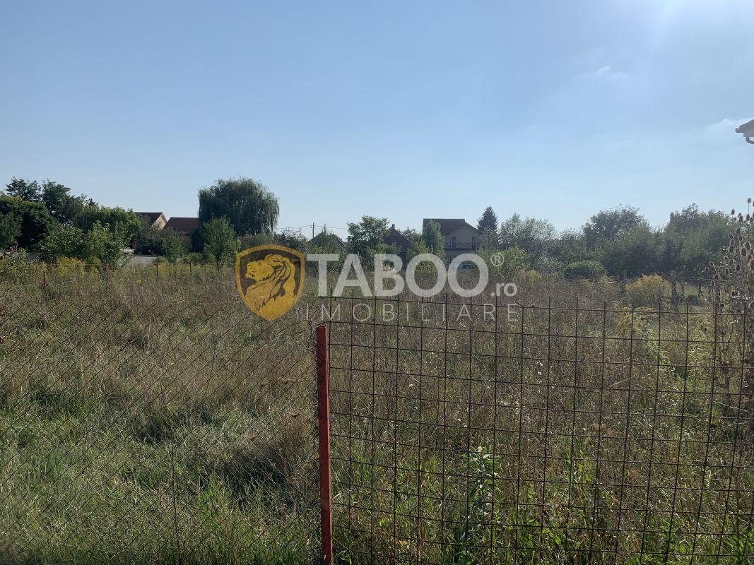 Teren intravilan de vanzare 1014 mp zona Terezian in Sibiu 1