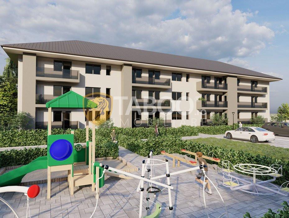 Apartament de vanzare 56 mp balcon terasa loc de parcare Sibiu Rahovei 2