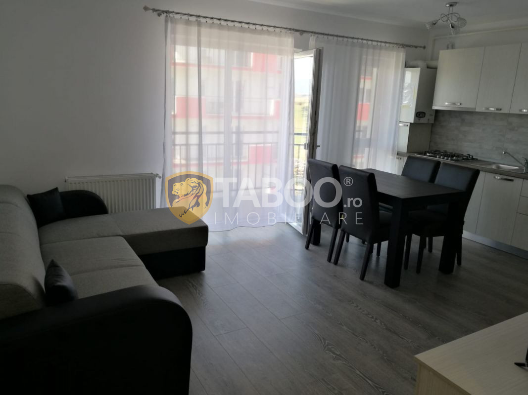 Apartament la prima inchiriere cu 3 camere Sibiu zona Magnolia 1