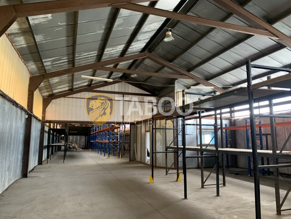 Hala industriala de inchiriat 738 mp in Sibiu zona Aeroport 2