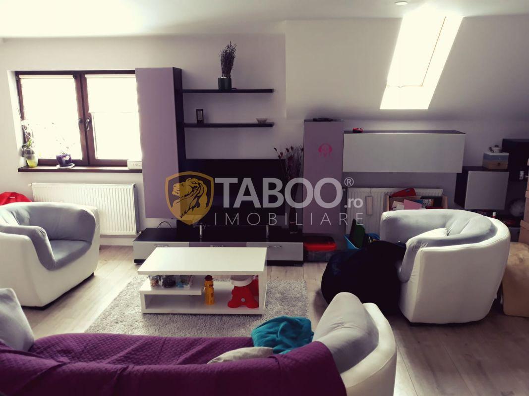 Apartament cu 102mp utili si 3 camere 2 bai pivnita balcon in Sibiu zona Tilisca 1