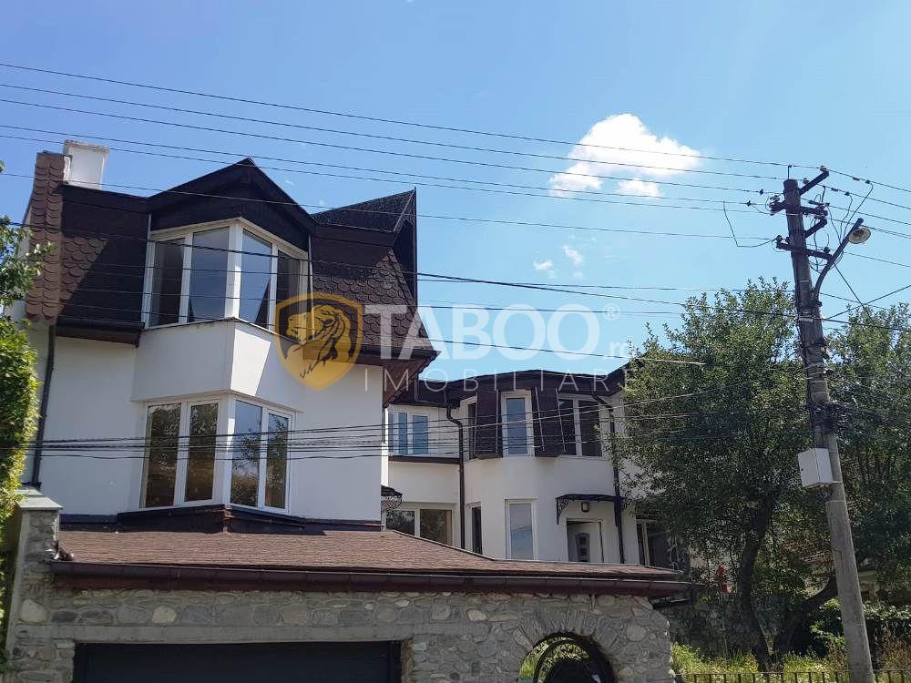 Vila cu 9 camere intr-una din cele mai exclusiviste zone din Sibiu 1