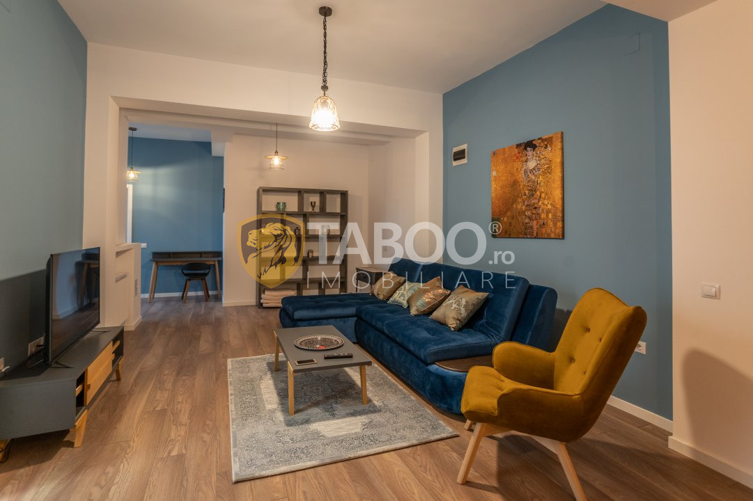 Apartament lux 3 camere de inchiriat in Sibiu zona Calea Dumbravii 1