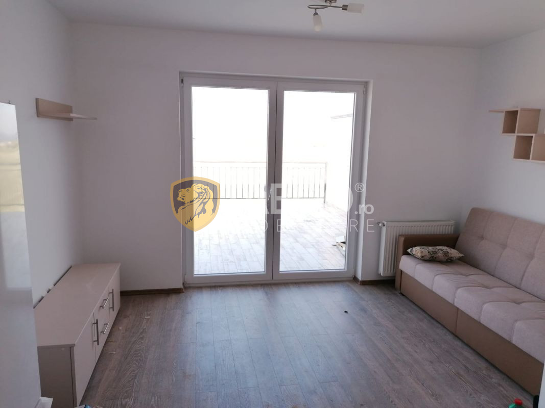 Apartament de vanzare cu 2 camere si terasa in Sibiu zona Turnisor 1