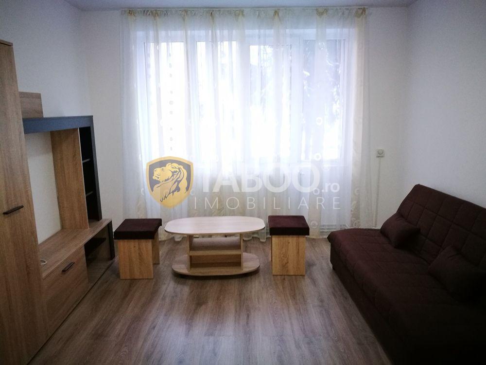 Apartament mobilat si utilat 3 camere balcon etaj 1 Terezian Sibiu 1