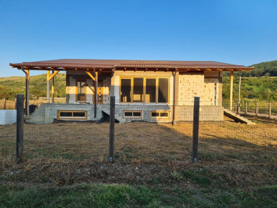 Casa la rosu de vanzare in Petresti judetul Alba