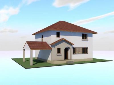Casa individuala P+1 zona Calea Cisnadiei in Sibiu
