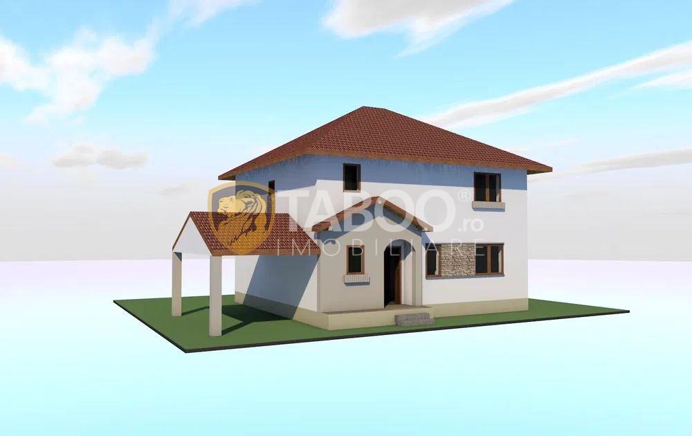 Casa individuala P+1 zona Calea Cisnadiei in Sibiu 1