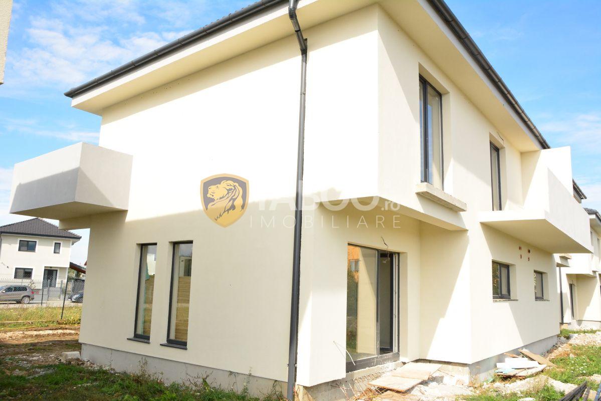 Casa noua de vanzare tip duplex cu 4 camere in Selimbar 1