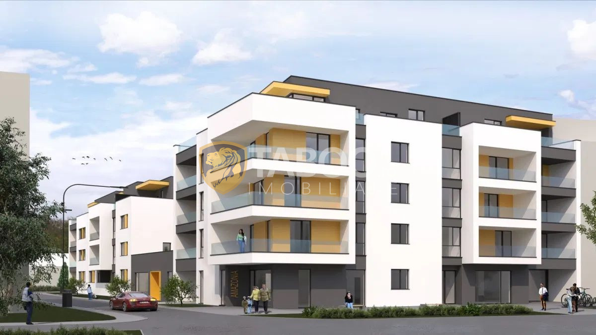 Apartament 3 camere 90 utili cu lift parcare subterana zona Piata Cluj 1
