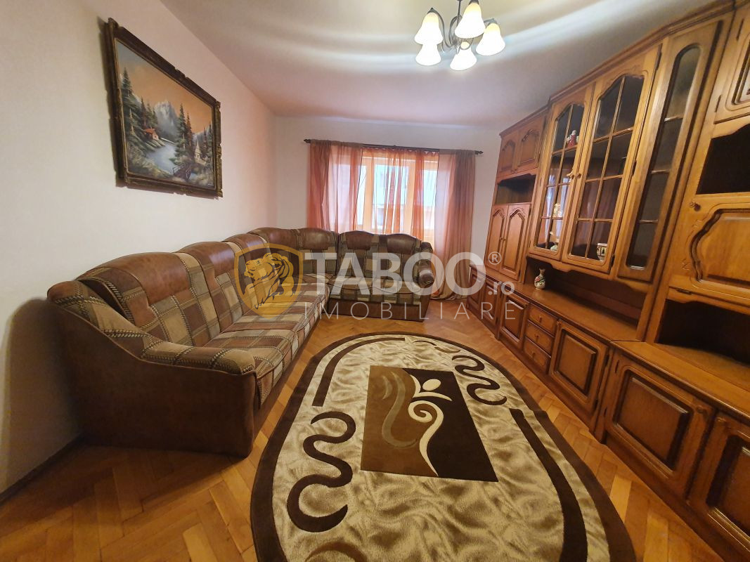Apartament cu 2 camere decomandate de inchiriat in zona Rahovei Sibiu 1