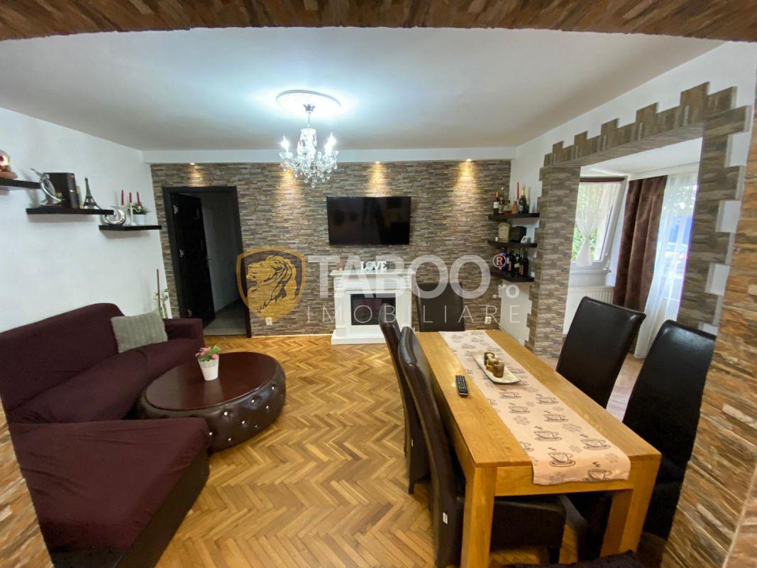 Apartament 3 camere mobilat si utilat in Sibiu zona Vasile Aaron 1
