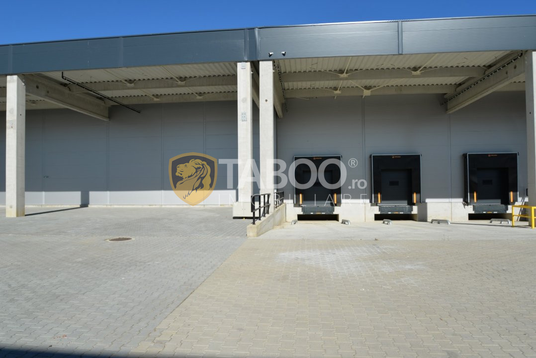 Hala 2.026 mp clasa A de inchirat in zona Industriala Est Sibiu 1