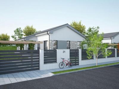 Casa individuala 96 mp utili si 700 mp curte de vanzare in Sura Mare