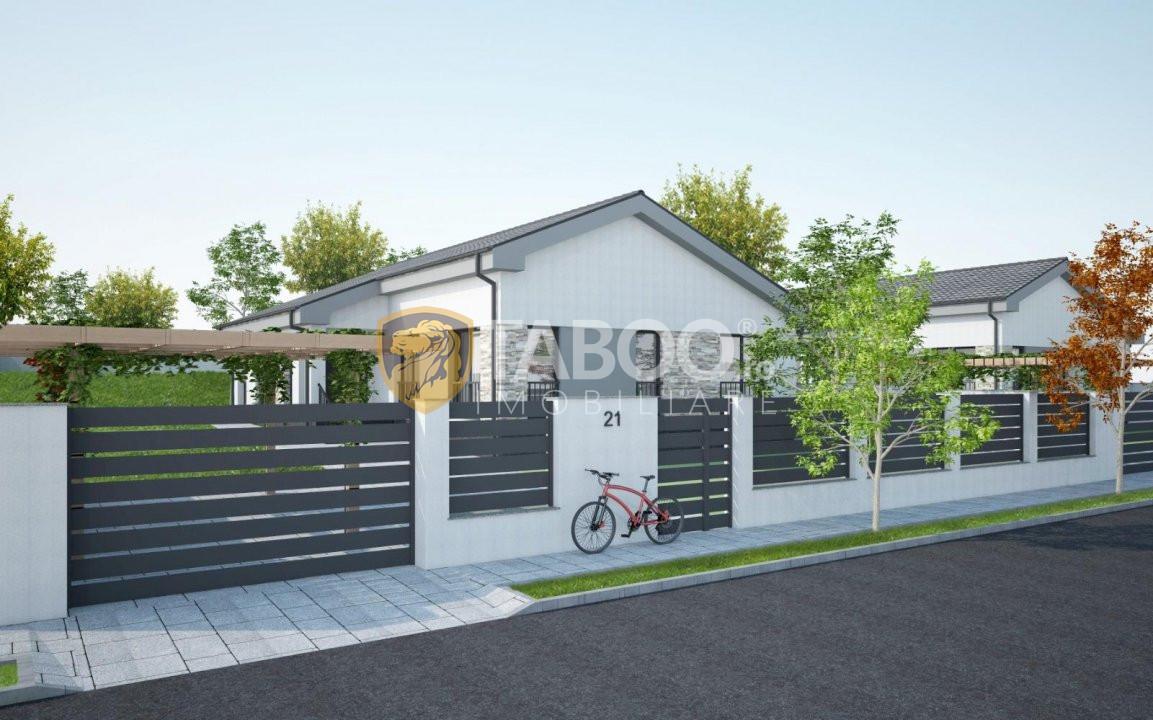 Casa individuala 96 mp utili si 700 mp curte de vanzare in Sura Mare 2