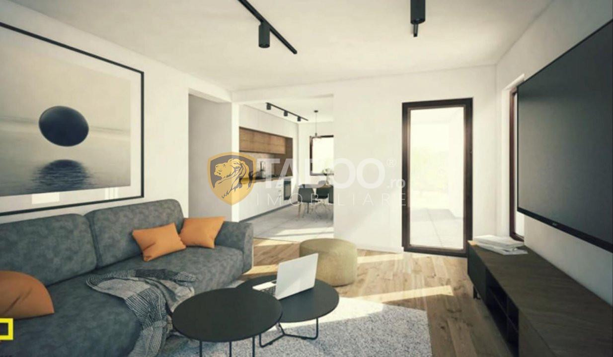 Casa individuala 96 mp utili si 700 mp curte de vanzare in Sura Mare 3