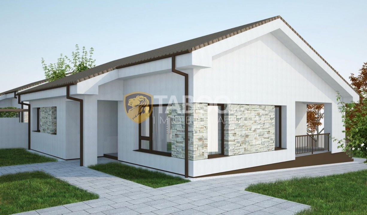 Casa individuala 96 mp utili si 700 mp curte de vanzare in Sura Mare 5