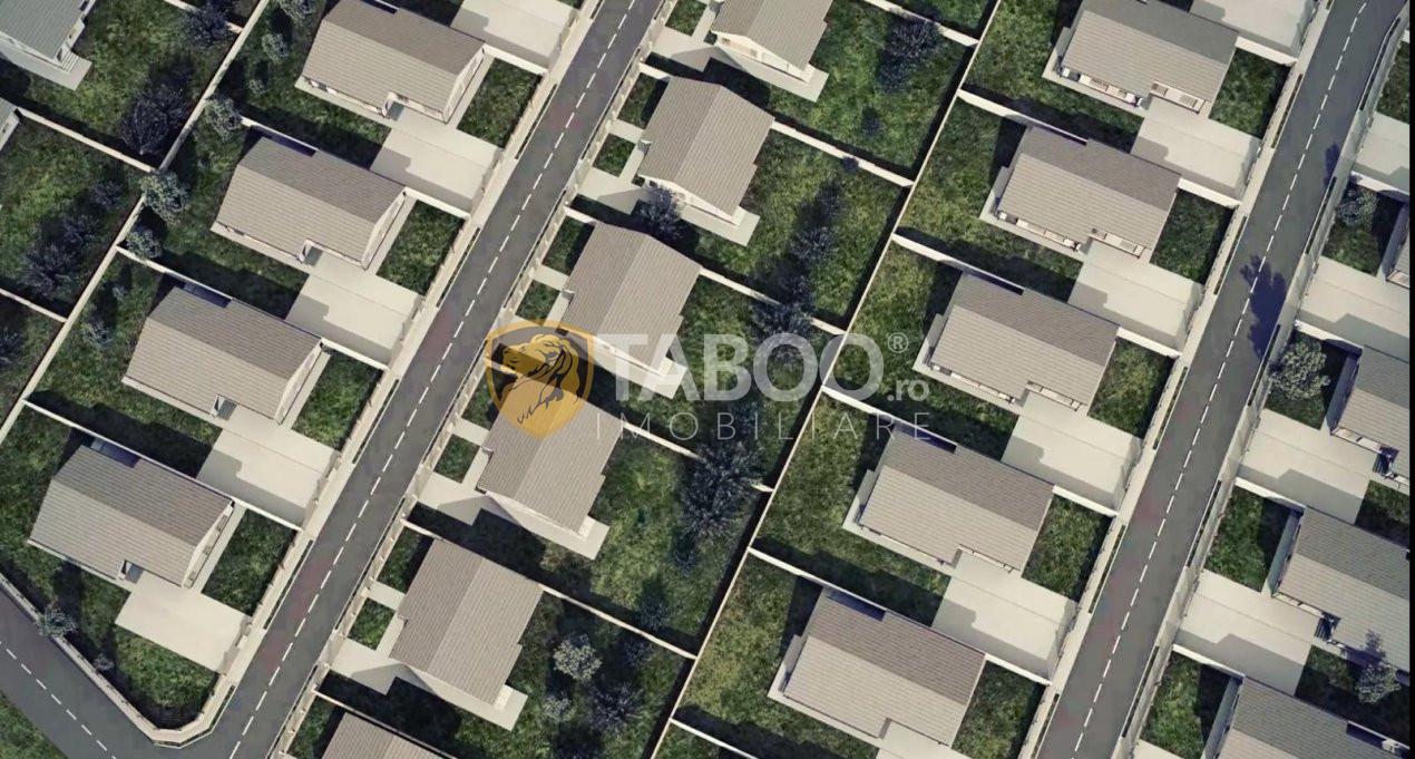 Casa individuala 96 mp utili si 700 mp curte de vanzare in Sura Mare 6