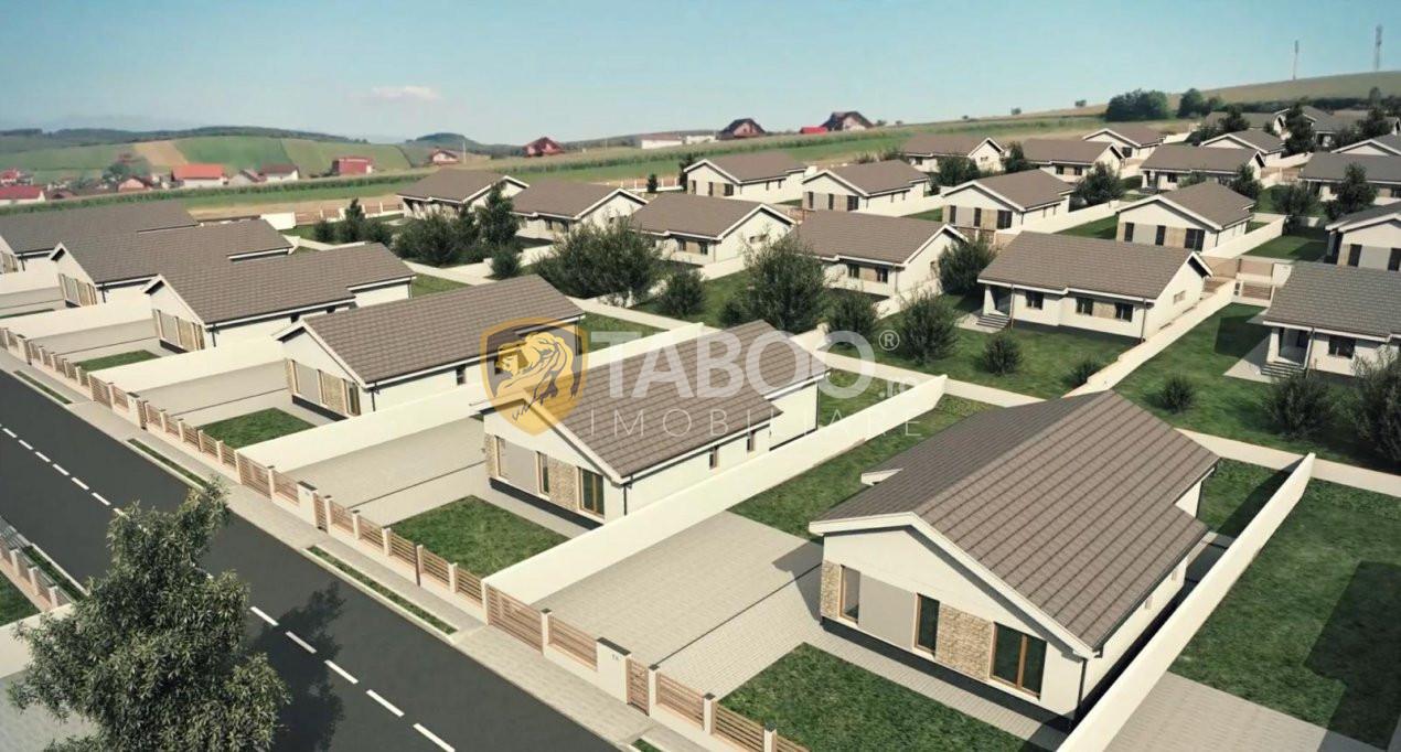 Casa individuala 96 mp utili si 700 mp curte de vanzare in Sura Mare 7