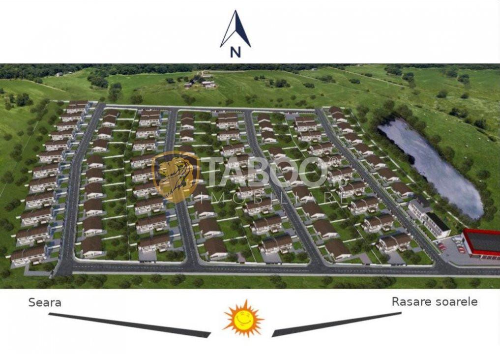 Casa individuala 96 mp utili si 700 mp curte de vanzare in Sura Mare 8