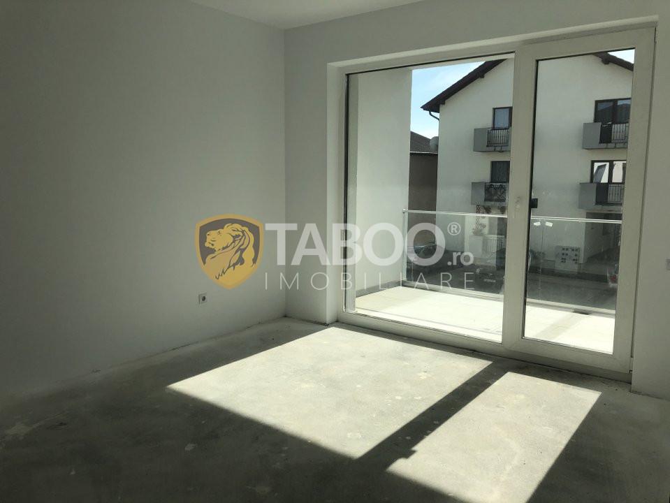 Apartament cu 3 camere si terasa de vanzare in Sibiu Calea Cisnadiei 1