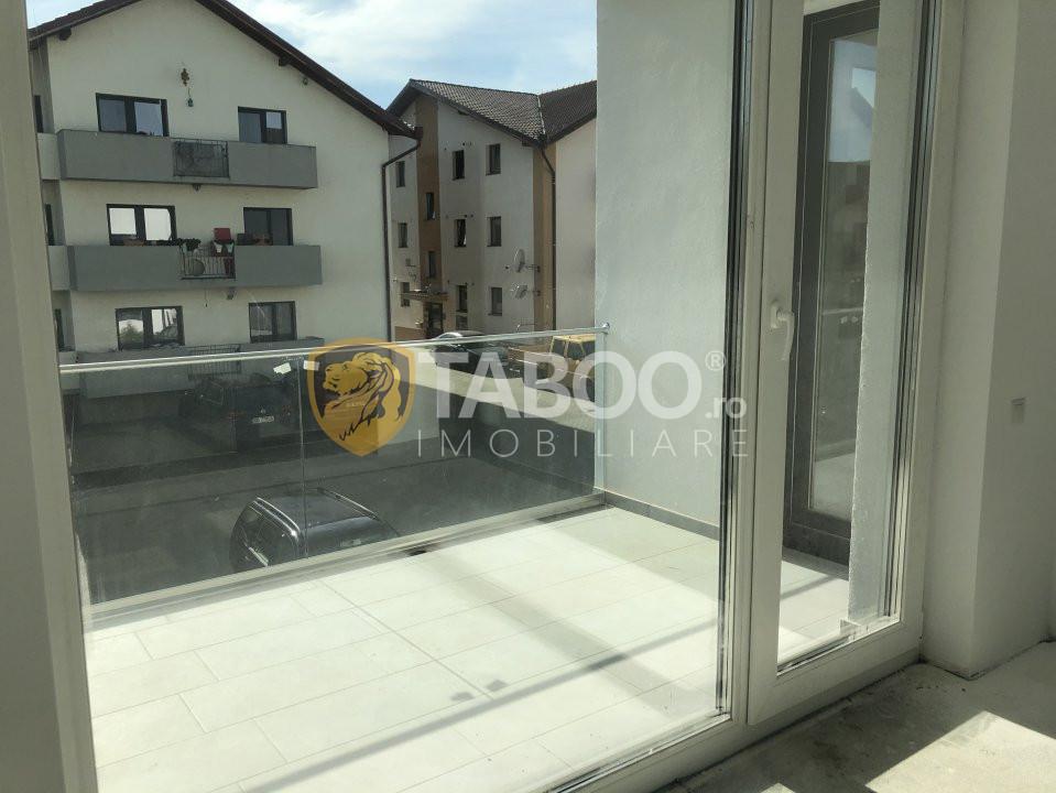 De vanzare apartament 3 camere si terasa in Sibiu Calea Cisnadiei 1
