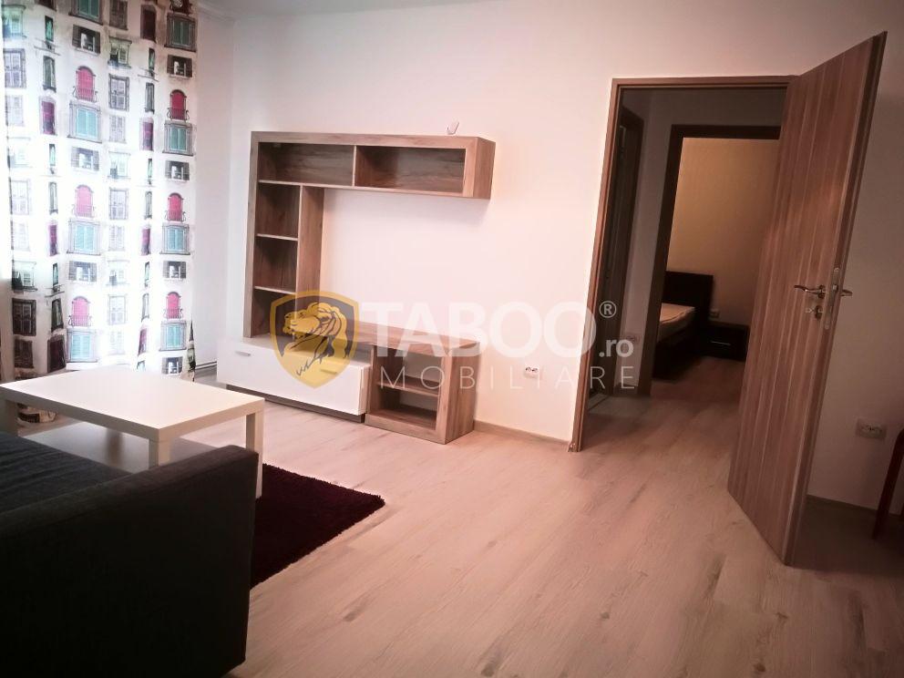 Apartament renovat 2 camere si balcon de inchiriat zona Rahovei Sibiu 1