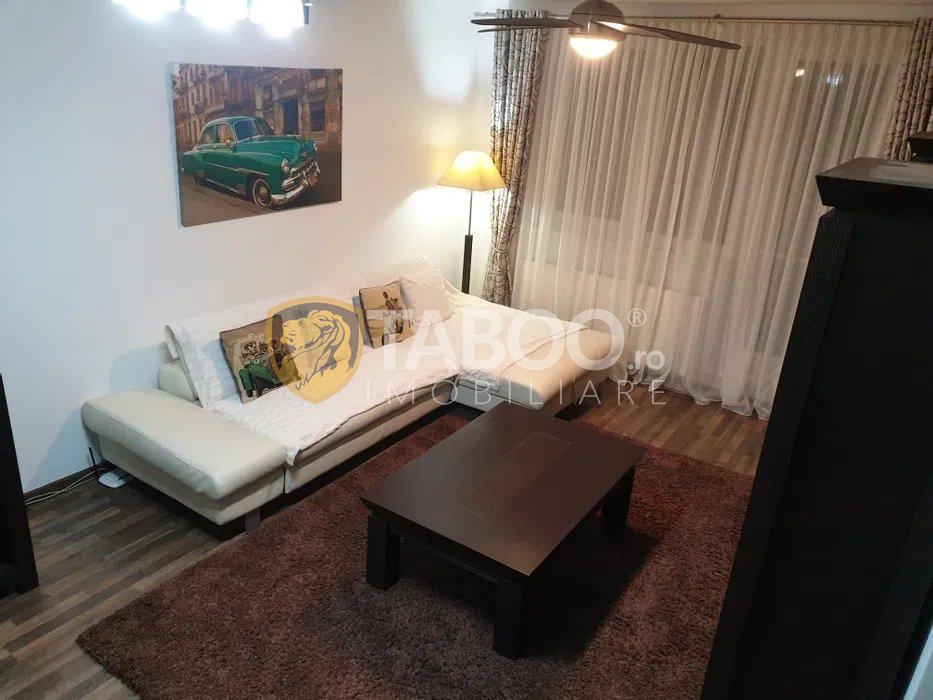 Apartament 3 camere mobilat modern la vila etaj 1 de vanzare Selimbar 2