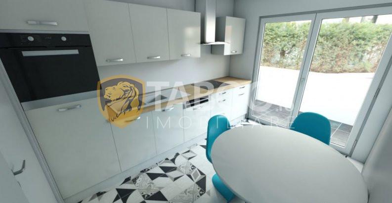 Apartament 67 mpu de vanzare 3 camere 2 bai 2 balcoane Turnisor Sibiu 1