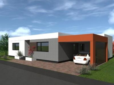 Casa moderna individuala 300 mp curte libera S+P in Viile Sibiului