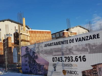Apartament de vanzare 2 camere in Selimbar cu gradina 55mp CADOU