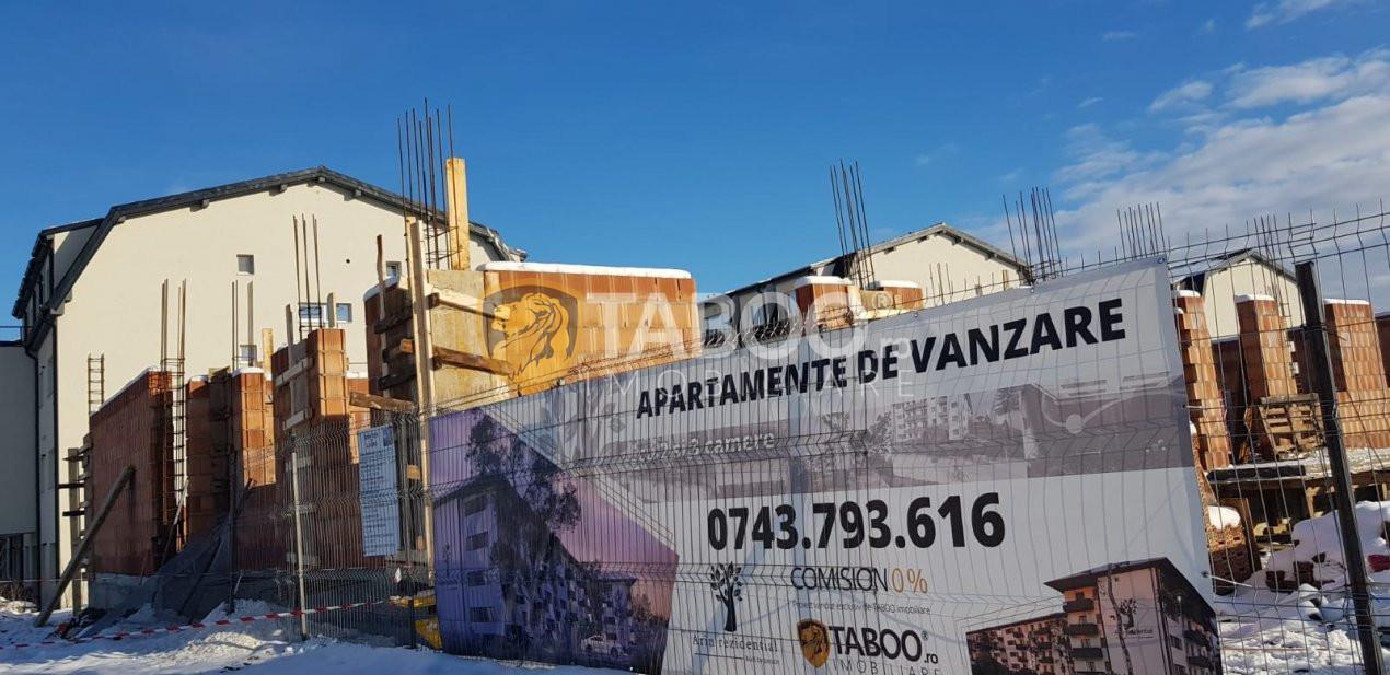 Apartament de vanzare 2 camere in Selimbar cu gradina 55mp CADOU 1