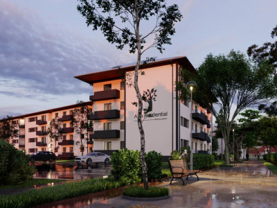 Apartament cu 2 camere si cu gradina 50mp de vanzare in Selimbar