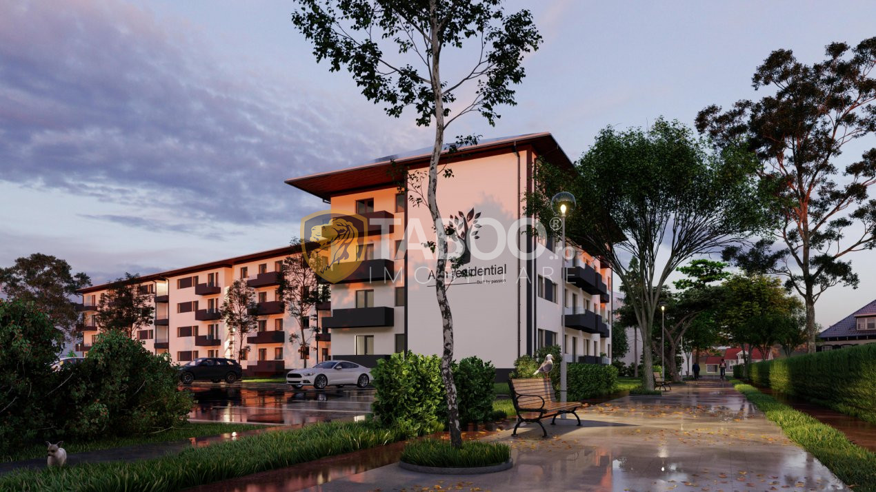 Apartament cu 2 camere si cu gradina 50mp de vanzare in Selimbar 1