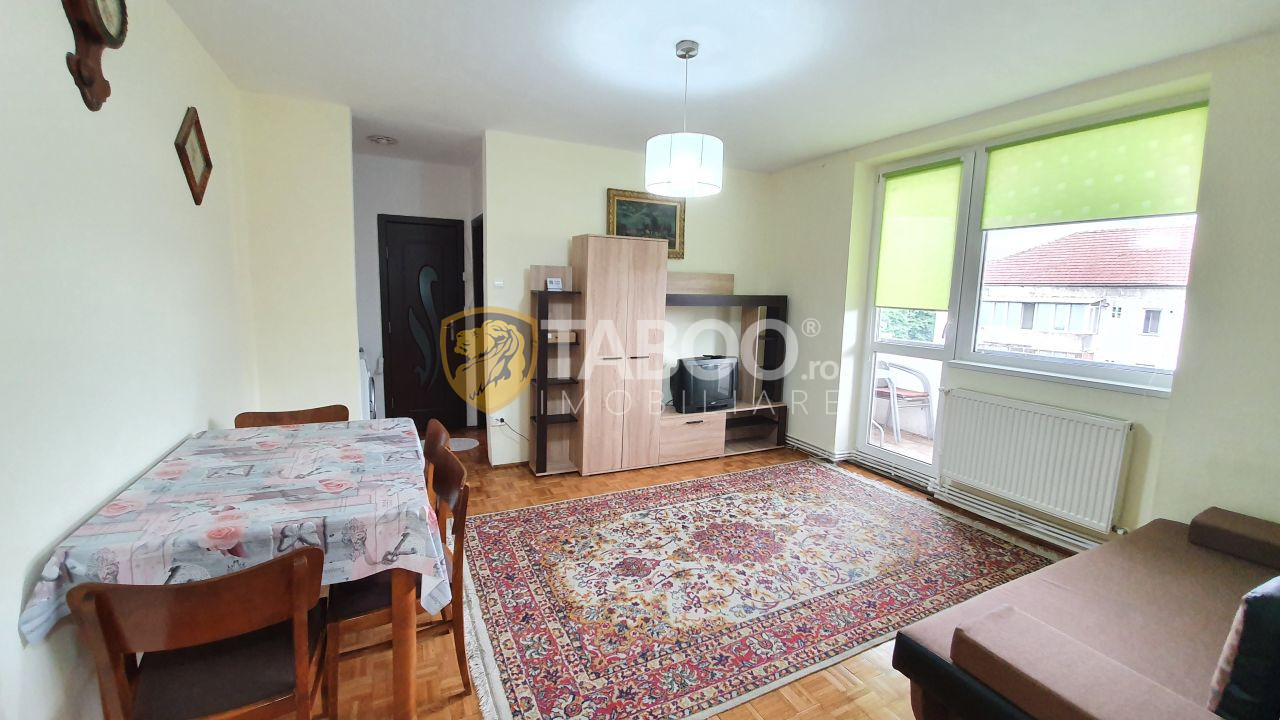 Apartament cu 2 camere si balcon de vanzare in Sibiu zona Rahovei  1