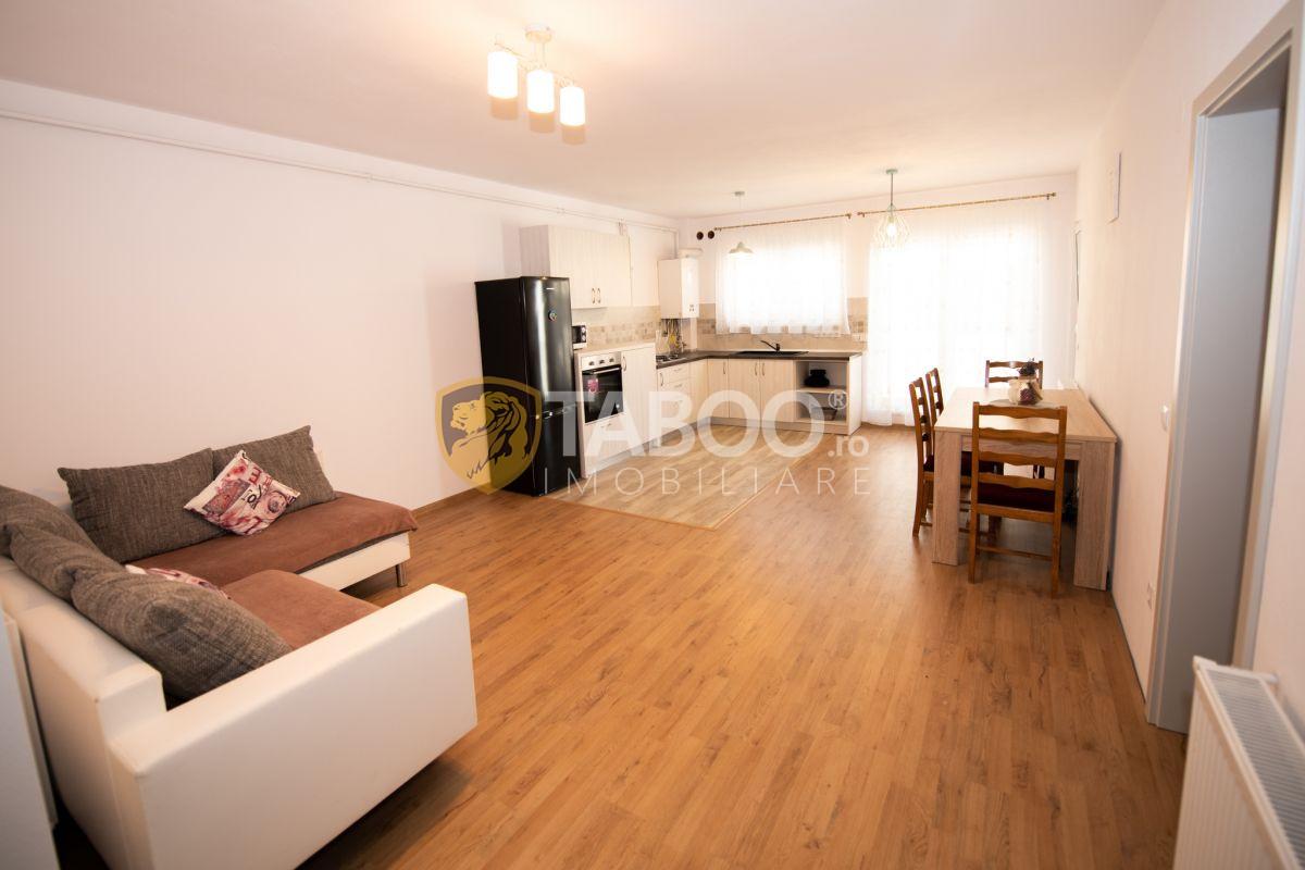 Apartament mobilat si utilat 2 camere in Sibiu Calea Cisnadiei 1