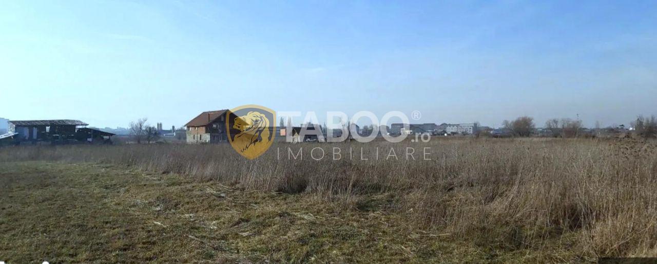 Vanzare parcele teren zona industriala Henri Coanda-Trans Agape Sibiu 1