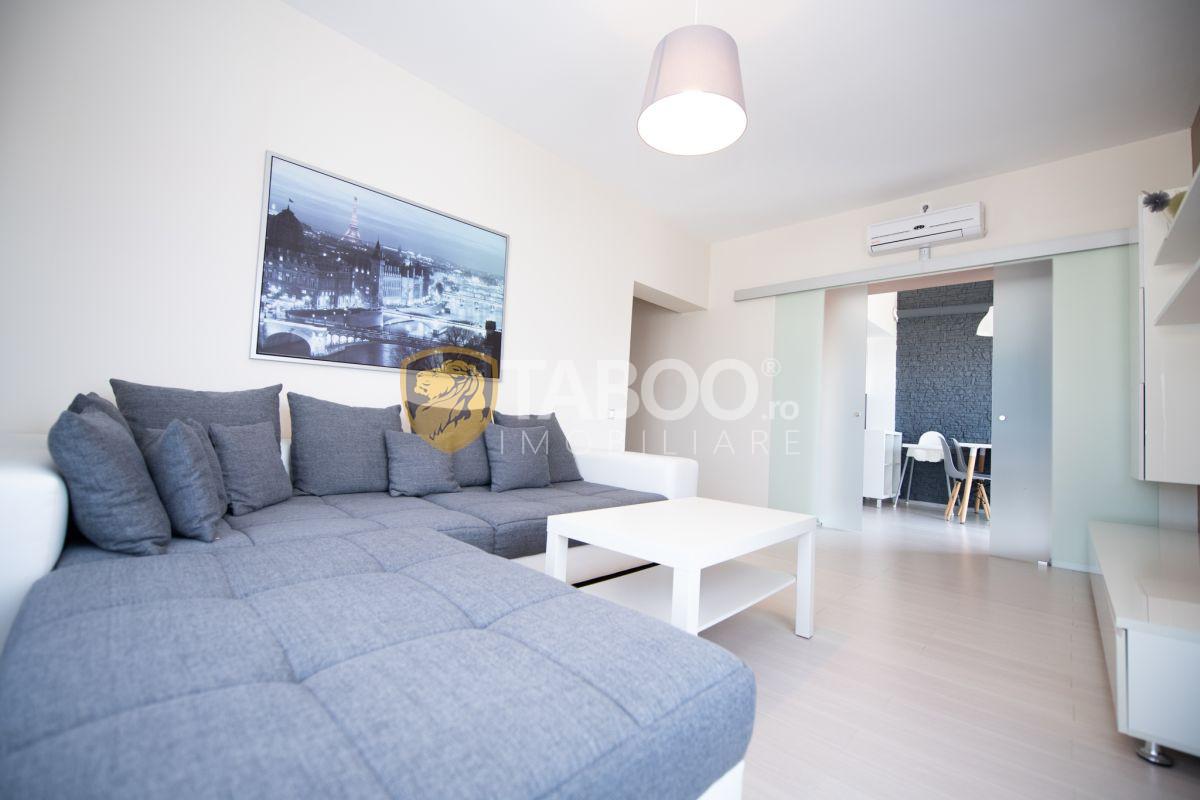 Apartament modern 2 camere 70 mp utili in Selimbar zona Brana 4