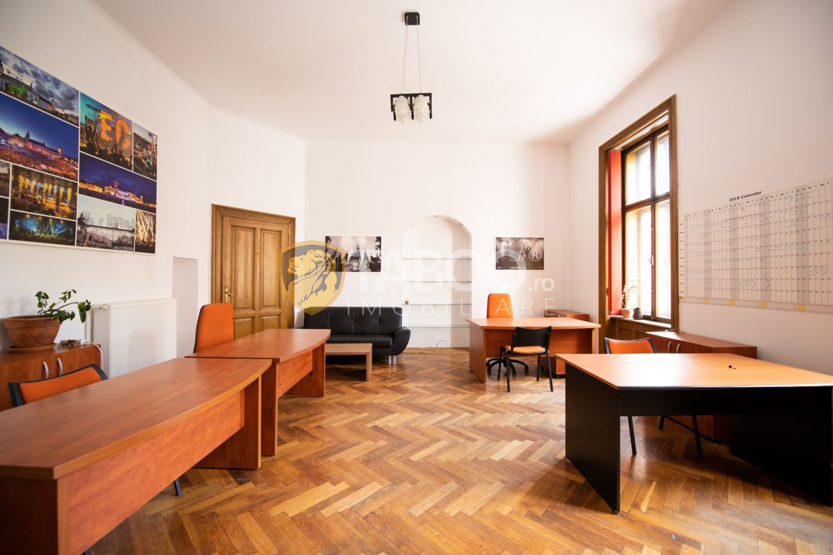 Spatiu de birouri cu 2 camere in Sibiu zona Centrul Istoric 1