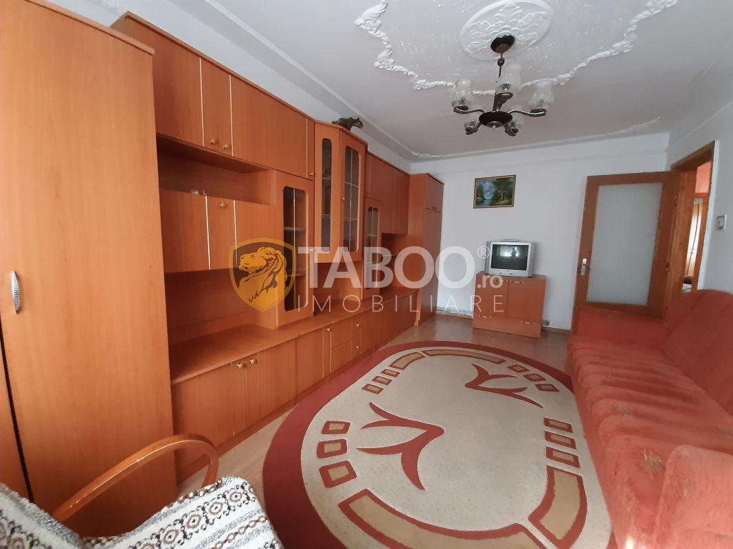 Apartament mobilat si utilat 3 camere de inchiriat Vasile Aaron Sibiu 4